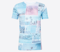 T-Shirt 'with all over photo print - Gots'