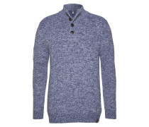 Pullover taubenblau