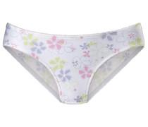 Slip neonblau / neongrün / pink / weiß
