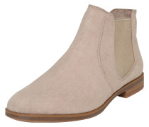 Chelsea-Boots aus softem Textil