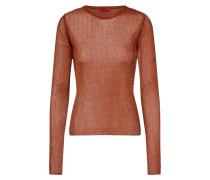 Pullover 'Smeraldy' bronze / orange
