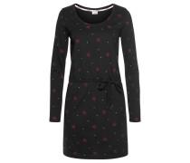 Kleid rot / schwarz / weiß