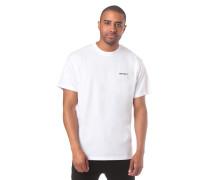 Script Embroidery T-Shirt weiß