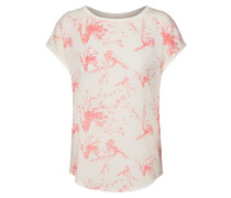 Bluse 'sc-Sue 30' pink / offwhite