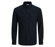Weiches Langarmhemd schwarz