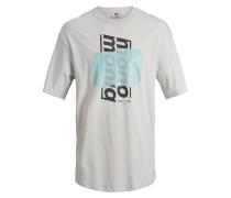 Oversize T-Shirt grau