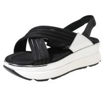 Sandalette mit Keilabsatz 'Drake'