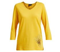 Langarmshirt 'Diaz' gelb / gold