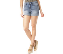 Shorts 'Mana' blue denim