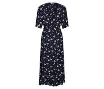 Kleid 'Bess' blau / schwarz / weiß