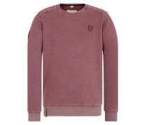 Sweatshirt 'First Blood' bordeaux