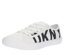 Sneaker 'doni-Lace UP Platform Sneaker' weiß
