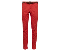Hose 'Stuart in peached twill with belt'