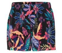 Shorts hellblau / koralle / hellrot / schwarz