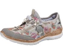 Sneakers creme / hellgrau / rosa