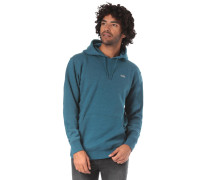 Sweatshirt himmelblau / petrol