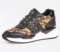 Sneaker braun / cognac / schwarz
