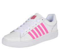 Sneaker 'Court Winston' neonpink / weiß
