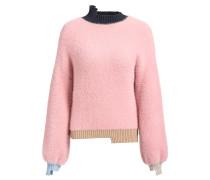 Pullover aus weichem Garn mit langem Flor