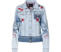 Jeansjacke blau / mischfarben
