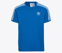 T-Shirt '3-Stripes' blau / weiß