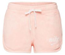 Shorts rosa / weiß