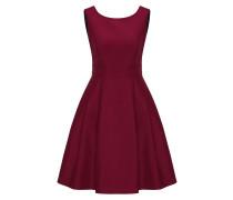 Kleid weinrot