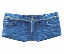 Badehotpants blue denim