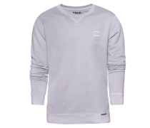 Sweatshirt 'batten' grau
