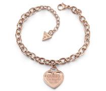 Armband 'Follow my charm Ubb28019' rosegold