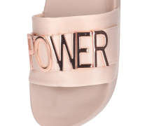 Pantoletten 'word' pink