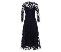Kleid 'Embroidered' Midi Dress navy