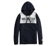 Sweatshirt 'oversized Colorblock' navy