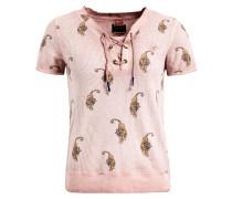 Shirt 'anniara' gold / altrosa