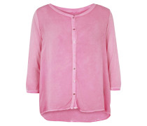 Bluse Button pink