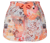 Shorts mischfarben / orange