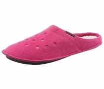 Hausschuh pink