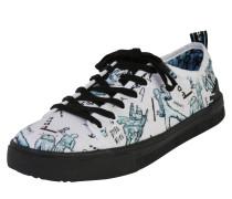 Schuh mischfarben / schwarz / weiß