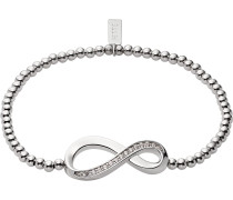 Armband 'Endless Love' silber