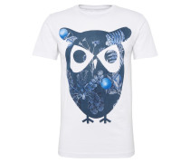T-Shirt 'with owl print - Gots'