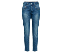Slimfit Jeans 'Shyra Cropped Denim Powerstretch'