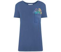 T-Shirt blau / mischfarben