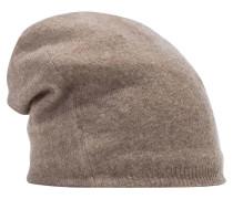 Mütze braunmeliert