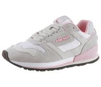 Keilsneaker hellgrau / rosa