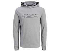 Sportliches Sweatshirt grau