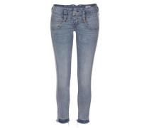 Jeans 'Pitc' taubenblau