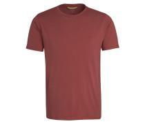 T-Shirt rubinrot