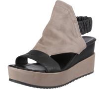 Sandaletten greige / schwarz