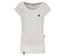 Shirt 'Wolle Ankerdizzel' navy / weiß