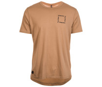 T-Shirt 'Originators Square Logo' braun